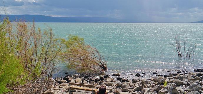 Der See Genezareth ist Schauplatz verschiedener Erzählungen über Jesus von Nazareth